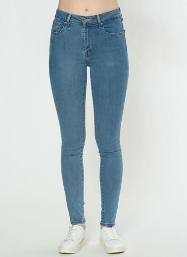 Levi's® 188820361 721 High Rise Skinny Bogota Yüksek Bel Dar Paça Kadın Jean Pantolon İndigo
